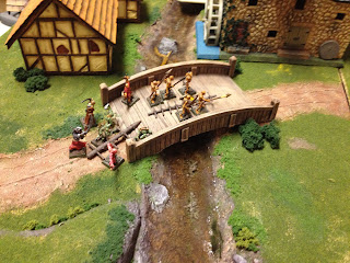 Northern force reaches the bridge.