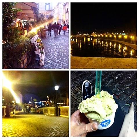 trastevere, tourist, turisti, paikallinen, locals, italian, rooma, roma, rome, italia, area, city, alley, river, joki ,kujat, kadut, tiber joki, tiber river, jäätelöbaari, blue ice, gelato, ice cream, jäätelö, pistaasijäätelö, pistachio ice cream, piazza navona,