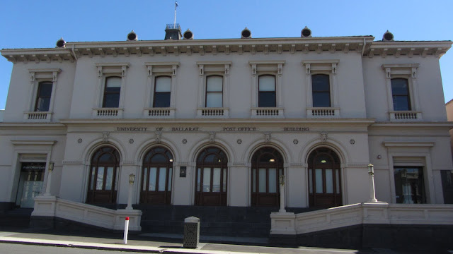 Ballarat's old Post Office Building, now a part of the University of Ballarat.