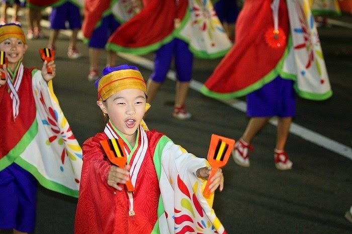 第60回よさこい祭り☆本祭2日目・升形地域競演場35☆上2目2472