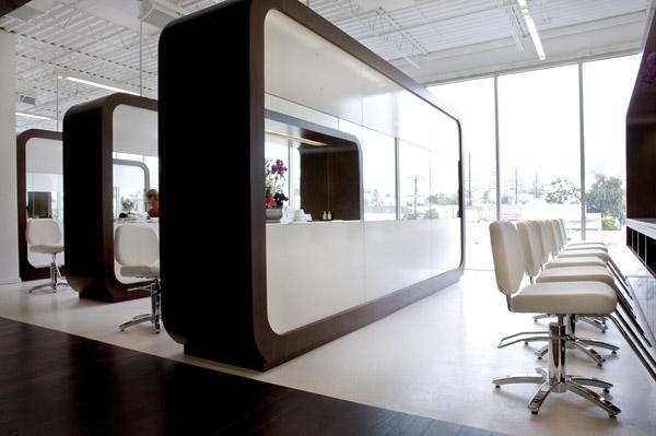 iZdesigner.com - Ý tưởng thiết kế nội thất sáng tạo cho salon tóc