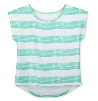 Áo thun bé gái Arizona màu xanh ngọc, hàng xuất xịn, made in vietnam.