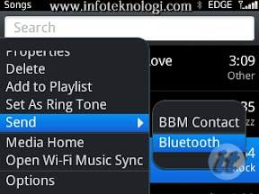transfer file via bluetooth