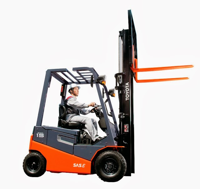 Toyota Electric Forklift 8FBN