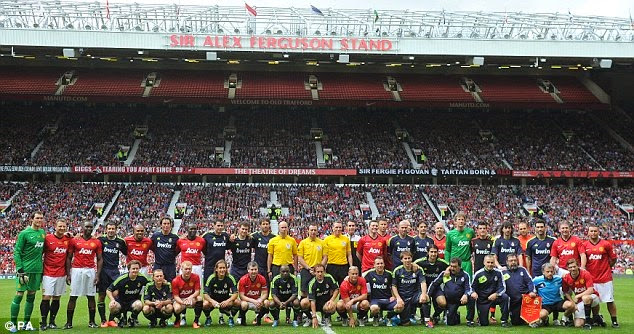 Man utd legends match 2013