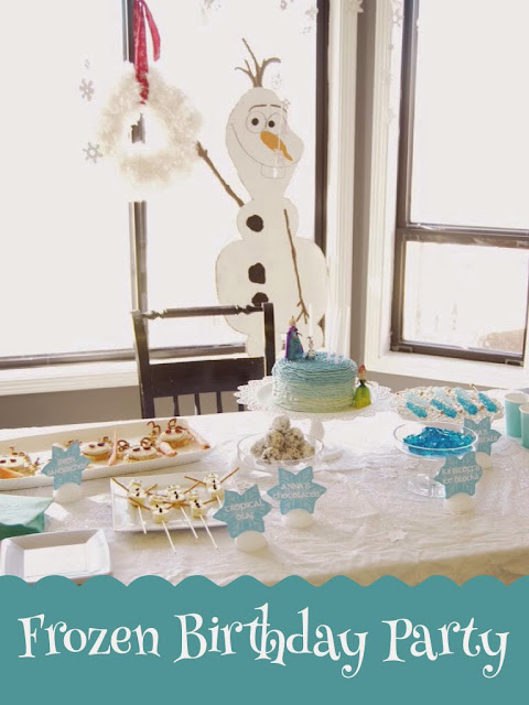 Frozen birthday party, frozen party decorations, olaf, Elsa,