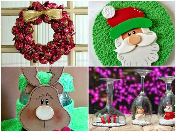 Ideias De Natal ~ 10 ideias de artesanato para o Natal Revista Artesanato