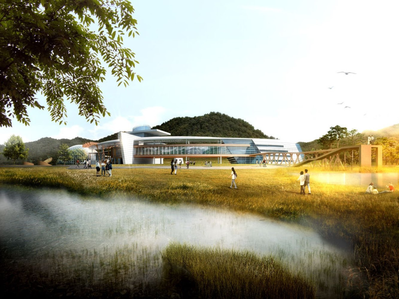 National Research Center for Endangered Species by SAMOO