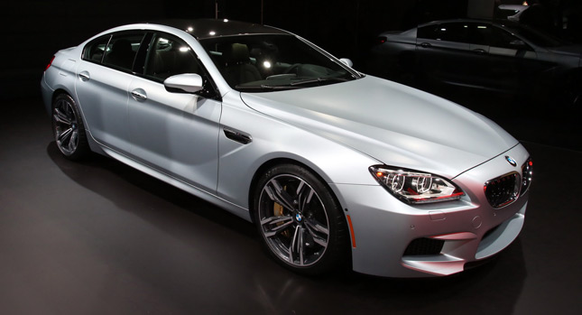 BMW M6 Gran Coupe 4 NAIAS 2013: BMWs New M6 Gran Coupe to Take on the Audi RS7