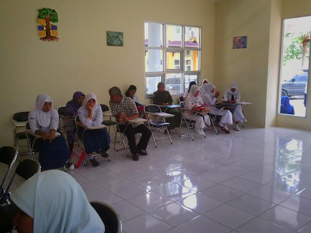 Suasana Penerimaan Siswa Baru (PSB) Th. Akademik 2014-2015