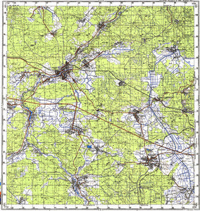 Map 100k--m35-032--(1988)