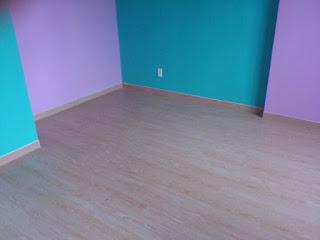 Hình ảnh Sàn nhựa ở 1 góc phòng khách