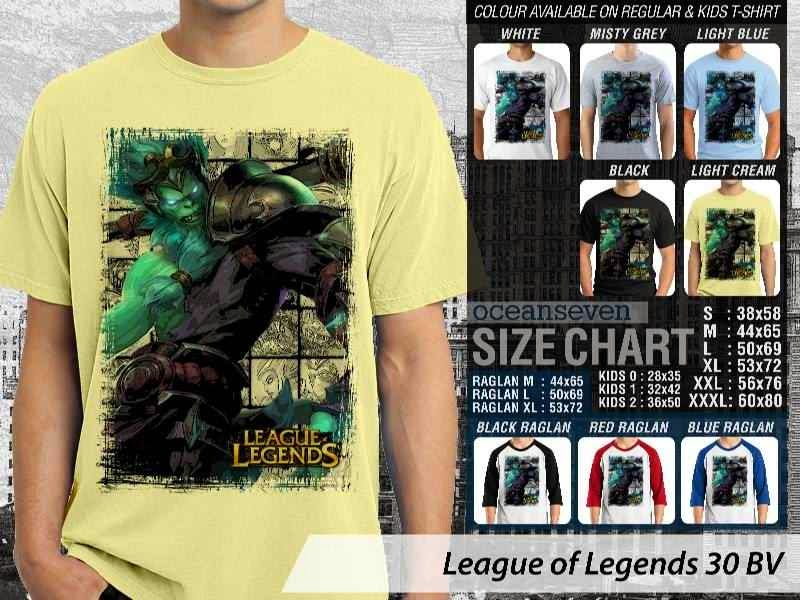 Kaos Game Online League of Legends 30 distro ocean seven