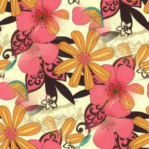 Flowers Background For Twitter