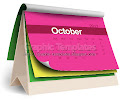 Colorful 2012 calender template