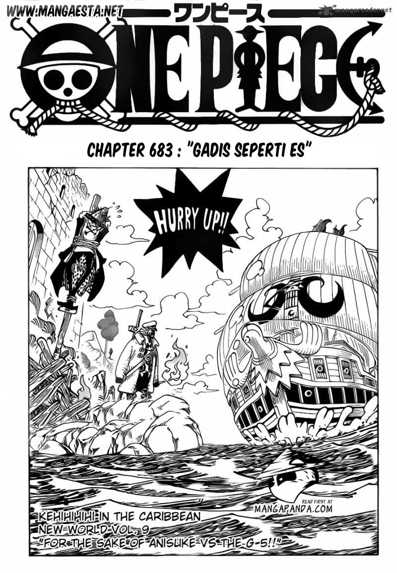 One Piece Chapter 683 Bahasa Indonesia