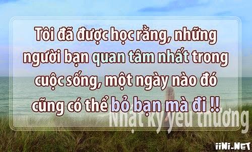 Câu nói buồn nhất trong tình yêu và cuộc sống