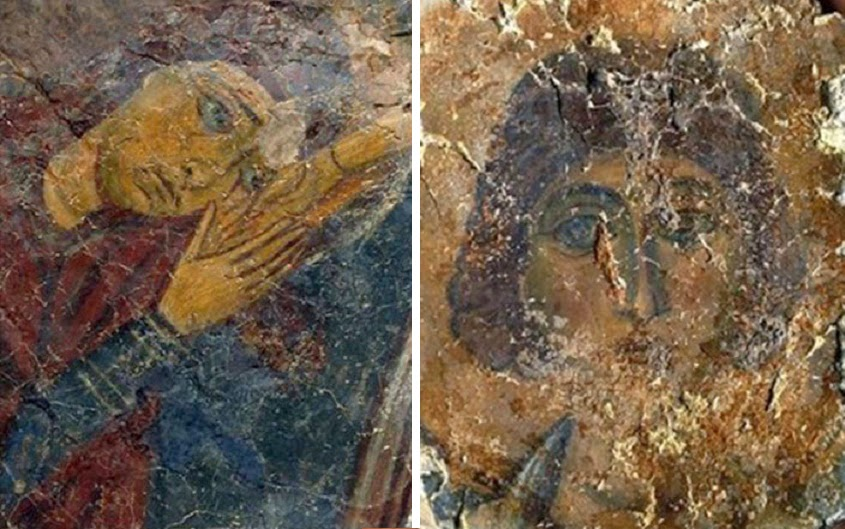 More Stuff: 12th century Cypriot looted frescoes presented in London