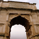 Arch at Roman Forum - Rome, Italy