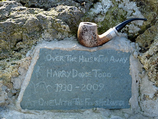 "A memorial plaque near Innominate Tarn - ""Over the Hills and Far Away"" Harry Doyle Todd 1930 - 2009."