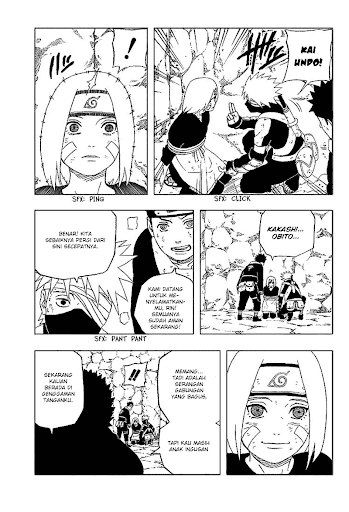 manga naruto bonus chapter kakashi gaiden