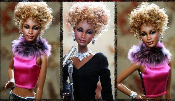 кукла уитни хьюстон  – ноэль круз