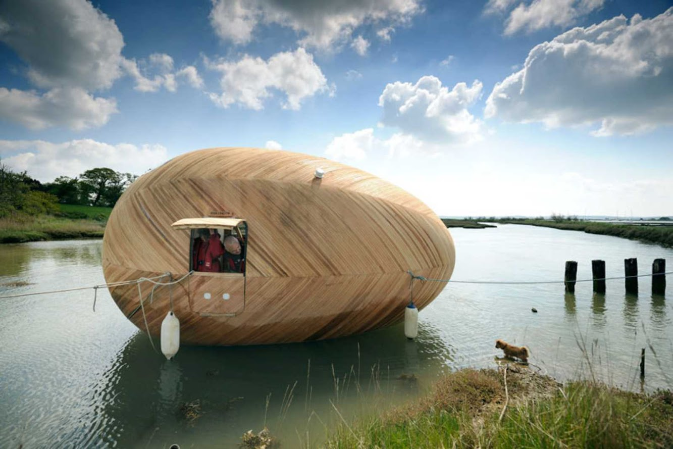 Exbury Egg by Stephen Turner