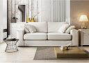 Canapé Nice tissu blanc