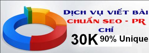 Dịch vụ viết bài chuẩn seo nay chỉ còn 30k với 90% unique