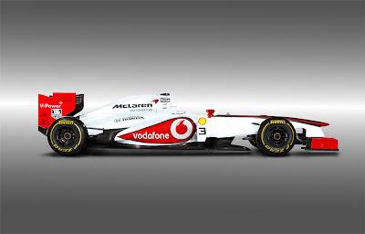 фотошоп болида McLaren в раскраске Honda от Neil Ascough