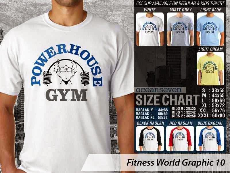 KAOS Power House Gym Fitness & Gym Series distro ocean seven