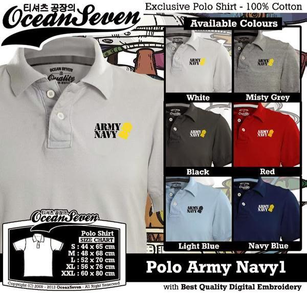 Polo Navy Army distro