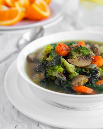 A Detox Soup That Won't Remind You of the Cabbage Soup Diet