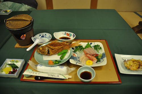 Традиционный японский ужин