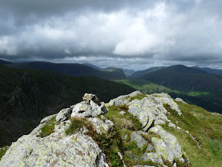Dovenest Crag to Fleetwith Pike