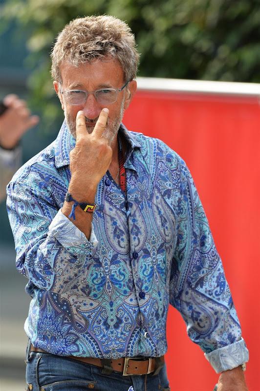 Эдди Джордан на Гран-при Китая 2013