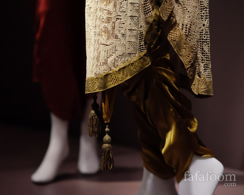 Detail shot of Callot Soeurs, Evening ensemble, 1910.