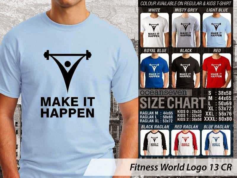 KAOS Make It Happen Fitness & Gym Series distro ocean seven