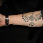 Les' new tatoo