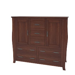 Cascade Wardrobe Dresser