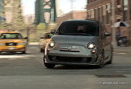 Fiat 500T front