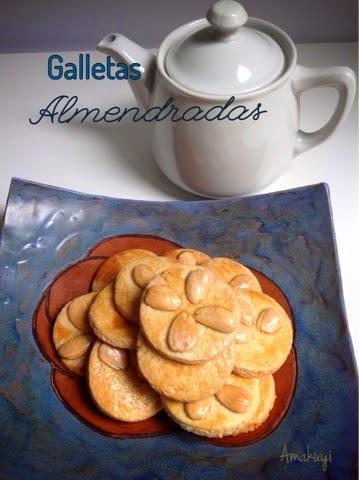 Galletas- almendra- mantequilla