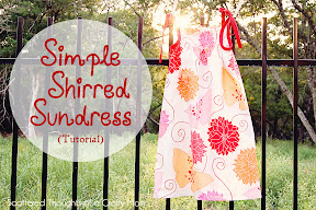 Shirred Sundress Tutorial