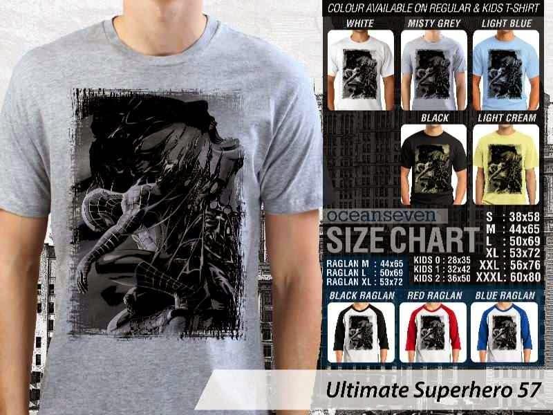 KAOS spiderman 57 Ultimate Superhero distro ocean seven