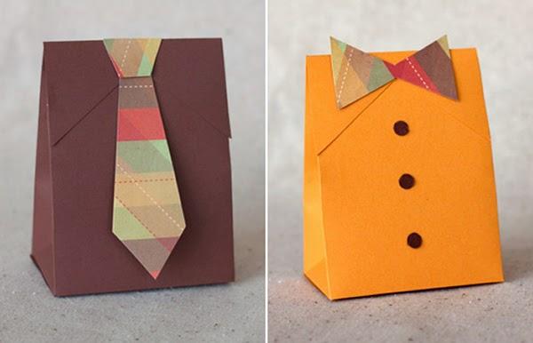 Упаковка для подарков своими руками к 23