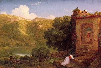 Thomas Cole - Il Penseroso.