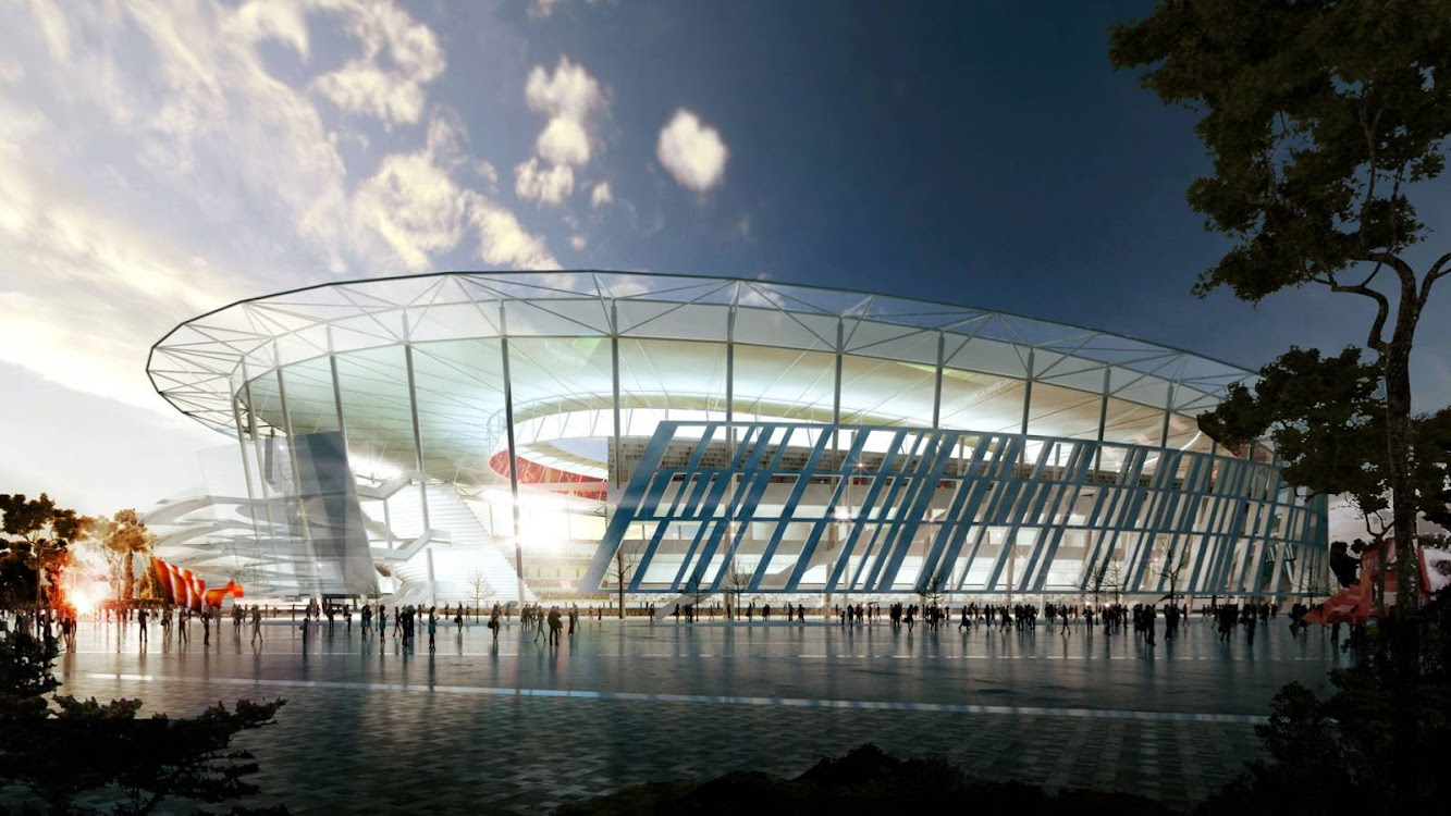 Stadium: NEW STADIUM in ROME by WOODS BAGOT