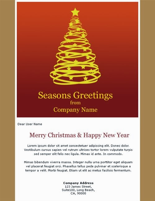 Free email christmas card template vaydileforic free m4hsunfo