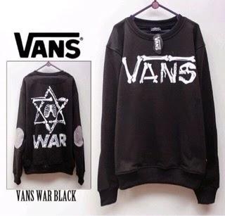 Jaket Vans Black WAR Underground