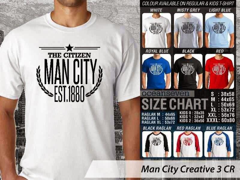 KAOS Man City Manchester City 14 Liga Premier Inggris distro ocean seven